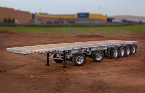 6 Axle Flatbed