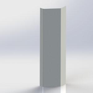 Polished Front Corner